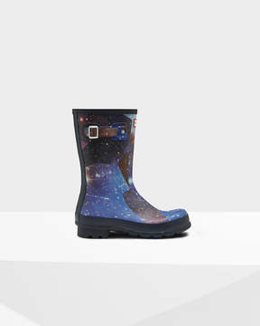 Hunter Men's Original Short Space Camo Rain Boots