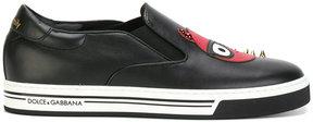 Dolce & Gabbana Devil Designer patch sneakers
