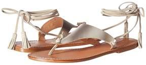 Soludos Thong Gladiator Flat Sandal