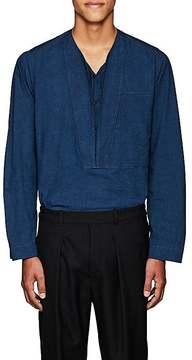 Lemaire Men's Cotton Chambray Tunic Shirt