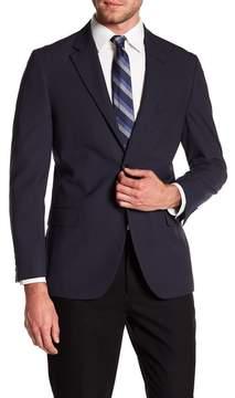 Nautica Pinstripe Woven Notch Collar Jacket