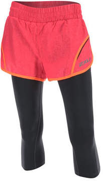 2XU Women's Flex 3 inch Short with 70D 3/4 Compression Tights