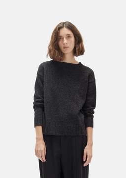 La Garçonne Moderne Sylvia Shetland Pullover Charcoal