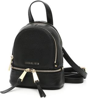 MICHAEL Michael Kors Extra Small Rhea Backpack - BLACK|NERO - STYLE