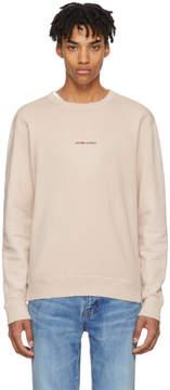 Saint Laurent Pink Rive Gauche Sweatshirt