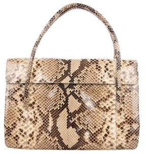 Nancy Gonzalez Crocodile Handle Bag