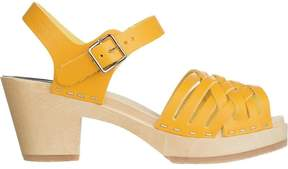 Swedish Hasbeens Braided High Sandal