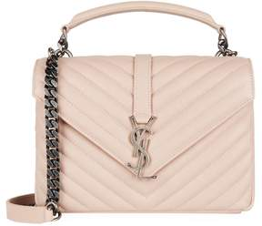 Saint Laurent Medium Collège Bag - PINK - STYLE
