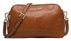MICHAEL Michael Kors Alexis Medium Messenger in Walnut - WALNUT - STYLE