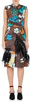 Prada Women's Embellished Floral Sheath Dress