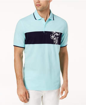 Club Room Men's Floral Polo, Created for Macy's