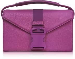 Christopher Kane Purple Grained Leather Devine Og Bag
