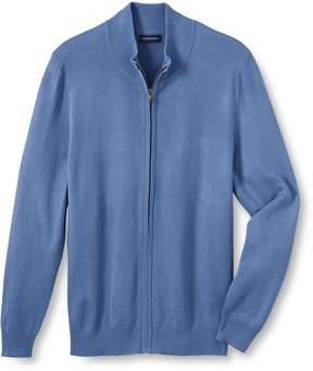 Lands' End Lands'end Men's Big Performance Zip Cardigan Sweater