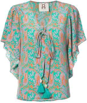 Figue Lena paisley-print blouse