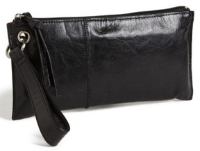 Hobo Women's 'Vida' Leather Clutch - Black