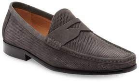 Saks Fifth Avenue Men's Perforated Suede Loafers