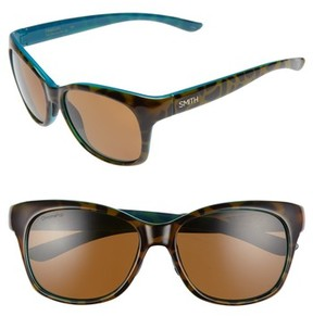 Smith Women's Feature Chromapop 54Mm Polarized Sunglasses - Tortoise Marine