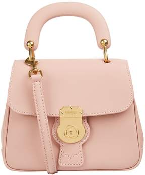 Burberry Small DK88 Top Handle Bag - PURPLE - STYLE