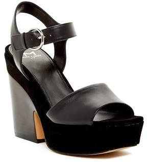Marc Fisher Perla Square Toe Platform Sandal