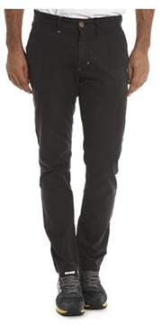 Sun 68 Men's Grey Cotton Pants.