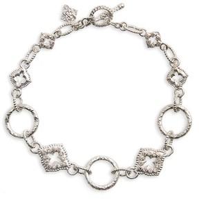 Armenta Women's New World Diamond Circle Link Bracelet