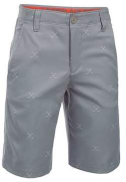 Under Armour Boy's Match Play Patterned Shorts