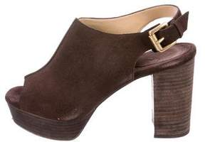 MICHAEL Michael Kors Slingback Platform Sandals