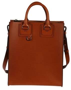 Sophie Hulme Women's Bg261lptan Brown Leather Handbag.