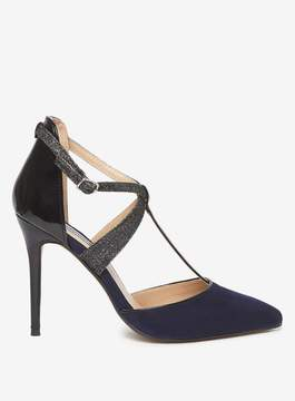 Dorothy Perkins Navy 'Gloria' T-bar Court Shoes