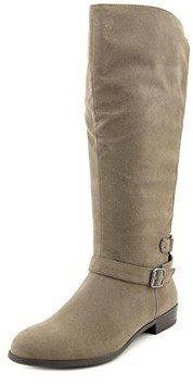 Style&Co. Style & Co Faee Wide Calf Women Round Toe Synthetic Gray Mid Calf Boot.