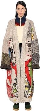 Stella Jean Embroidered Knit Cardigan