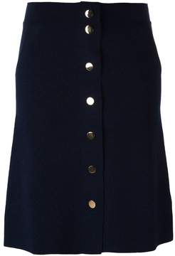 Allude buttoned skirt