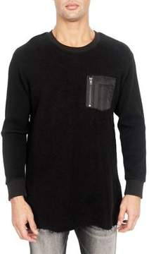 Cult of Individuality Thermal Crew Cotton Top