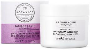 Botanics Radiant Youth Protecting Day Cream Sunscreen Broad Spectrum SPF 15