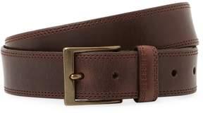 John Varvatos Collection Men's 35mm Double Stitch Strap Belt