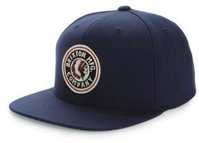 Brixton Men's Rival Snapback Baseball Cap - Blue