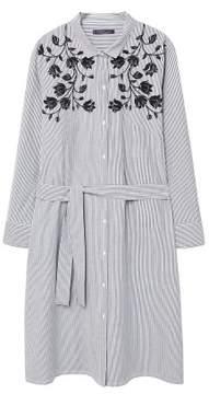 Violeta BY MANGO Striped shirt dress