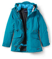 Lands' End Girls Squall Primaloft 3-in-1-Deep Sea Hearts