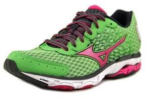 Mizuno Wave Inspire 11 Women Round Toe Synthetic Green Running Shoe.