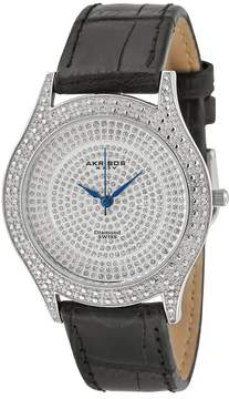Akribos XXIV Brillainaire Ladies Watch