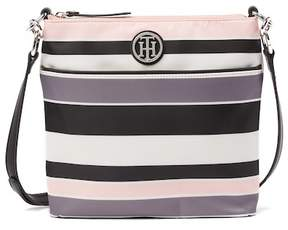 Tommy Hilfiger Nylon Striped Crossbody
