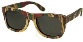 Spectrum Moriarty Wood Sunglasses