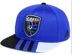 adidas Kids' San Jose Earthquakes Authentic Snap Cap