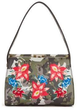 GUESS Manhattan Camo Shoulder Bag