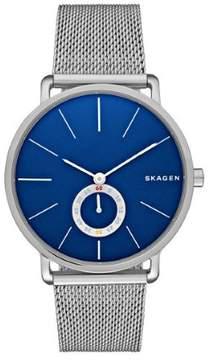 Skagen Hagen SKW6230 Silver/Blue Analog Quartz Men's Watch