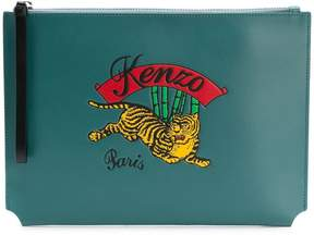 Kenzo Jumping Tiger clutch