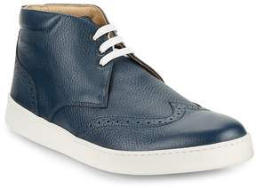 Bugatchi Men's Wingtip High-Top Sneakers
