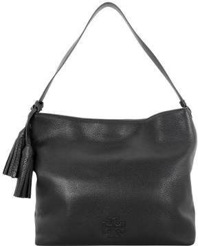 Tory Burch Thea Hobo Shoulder Black Leather Bag 11169714001 - ONE COLOR - STYLE