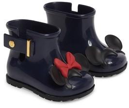 Mini Melissa Toddler Girl's Sugar Rain Disney Twins Waterproof Bootie