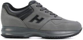 Hogan logo panelled sneakers